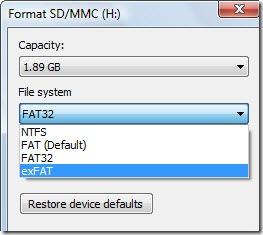 Exfat file system extended file allocation table data - Rebuild file allocation table ...