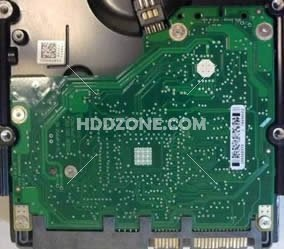 Seagate 100466824 Barracuda 7200.11 PCB