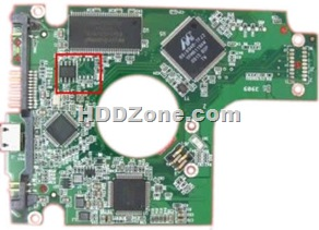 Western Digital PCB 2060-701675-001 REV P1