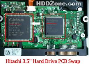 hitachi-3.5-inch-hard-drive-pcb-swap