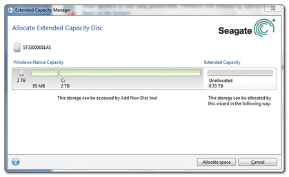 DiscWizard™ Extended Capacity Manager