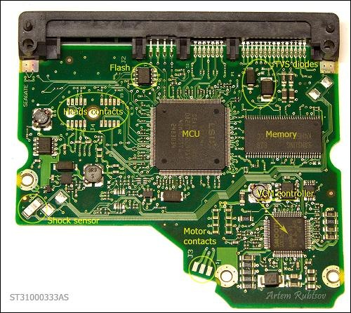 Hard Drive Pcb Parts Data Recovery Blog