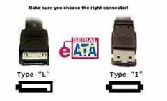 SATA to eSATA cable