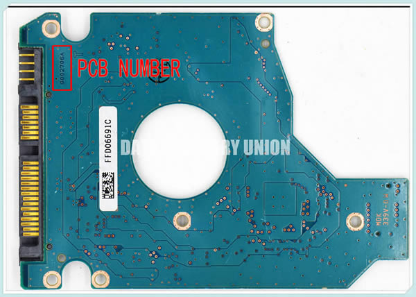 G002706A Toshiba HDD Printed Circuit Board (PCB) | Data
