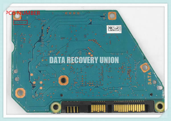 G003220A Toshiba HDD Printed Circuit Board (PCB) | Data